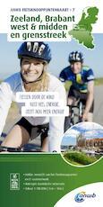 Zeeland, Brabant west & midden en grensstreek 1:100.000 - ANWB (ISBN 9789018041984)