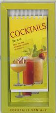 Cocktails van A-Z - Unknown (ISBN 9789036615297)
