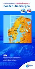 Wegenkaart 6. Zweden/Noorwegen - ANWB (ISBN 9789018042875)