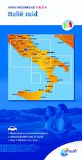 Wegenkaart 8. Zuid-Italië - ANWB (ISBN 9789018042769)