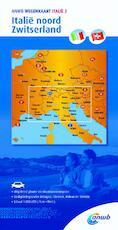 Wegenkaart 2. Italië noord/Zwitserland