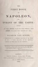 The first book of Napoleon, the tyrant of the earth - Eliakim The Scribe Michael] [= Linning