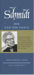 Die van die van u - Annie M.G. Schmidt (ISBN 9789028260429)