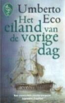 Het eiland van de vorige dag - Umberto Eco, Yond Boeke (ISBN 9789057132421)
