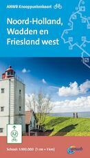 Fiets Knooppuntkaart Noord-Holland, Wadden en Friesland west (ISBN 9789018040901)