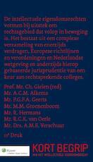Kort begrip van het intellectuele eigendomsrecht / deel Studenteneditie (ISBN 9789013126075)