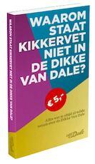 Waarom staat kikkervet niet in de Dikke Van Dale? - Ton den Boon (ISBN 9789460772788)