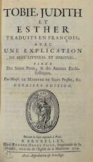 Tobie, Judith et Esther - Louis-Isaac Lemaistre de Sacy