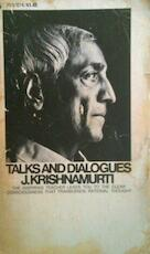 Talks and Dialogues - J. Krishnamurti (ISBN 0380015730)