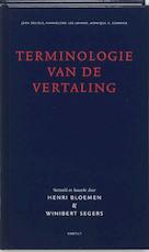 Terminologie van de vertaling - Jean Delisle, Hannelore Lee-jahnke, Monique C Cormier (ISBN 9789075697858)