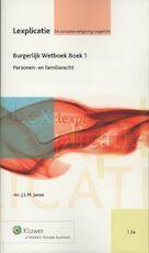 Burgerlijk Wetboek / Boek 1 - J.L.M. Janse (ISBN 9789013082104)