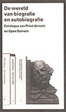 De wereld van biografie en autobiografie
