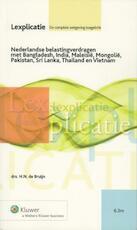 Nederlandse belastingverdragen met Bangladesh, India, Maleisië, Mongolië, Pakistan, Sri Lanka, Thailand en Vietnam - H.N. de Bruijn (ISBN 9789013096385)