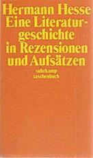 Eine Literaturgeschichte in Rezensionen und Aufsätzen - Hermann Hesse (ISBN 9783518067529)