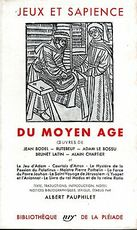 Jeux et sapience du Moyen âge