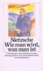 Wie man wird, was man ist - Friedrich Nietzsche (ISBN 9783458327967)