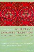 Sources of Japanese Tradition - Wm. Theodore De Bary (ISBN 9780231121392)