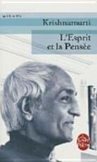L'esprit et la pensée - Jiddu Krishnamurti (ISBN 9782253154464)