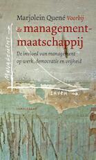 Voorbij de managementmaatschappij - Marjolein Quené (ISBN 9789047710974)