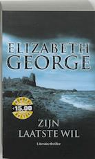 Zijn laatste wil - Elizabeth George (ISBN 9789022991640)