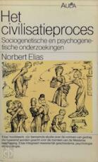 Het civilisatieproces - Norbert Elias, Willem Kranendonk (ISBN 9789027427441)