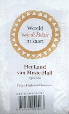 Wereld van de Po¿zie in kaart (5 ex.) - Peter Holvoet-Hanssen (ISBN 9789463102063)