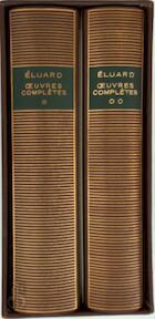 Oeuvres complètes - Paul Eluard, Marcelle Dumas, Lucien Scheler (ISBN 9782070101894)