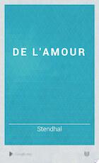 De l'amour - Stendhal