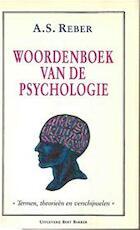 Woordenboek van de psychologie - A.s. Reber, Adri Van Der Wurff (ISBN 9789035107434)