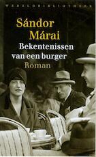 Bekentenissen van een burger - Sándor Márai (ISBN 9789028442146)