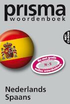 Prisma woordenboek Nederlands-Spaans + CD-ROM - Simon Anselmus Vosters (ISBN 9789027497871)