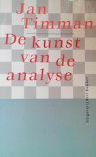 De kunst van de analyse - Jan Timman (ISBN 9789035112483)