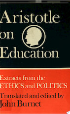 Aristotle on Education - Aristotle (ISBN 9780521094436)