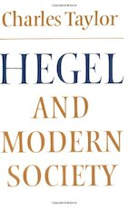 Hegel and Modern Society - Charles Taylor (ISBN 9780521293518)