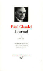 Journal - Tome II - Paul Claudel (ISBN 9782070101467)