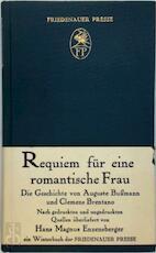 Requiem für eine romantische Frau - Auguste Bussmann, Hans Magnus Enzensberger, Clemens Brentano (ISBN 9783921592472)