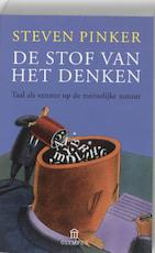 De stof van het denken - Steven Pinker (ISBN 9789025431785)