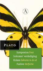 Symposium feest, sokrates verdediging, Kriton Sokrates in de dodencel, sterfscene uit Faidon - Plato (ISBN 9789025300555)
