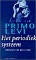 Het periodiek systeem - Primo Levi, Frida De Matteis-vogels (ISBN 9789029055376)