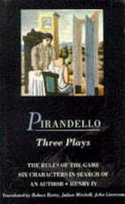 Pirandello Three Plays