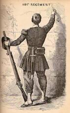Le 101e régiment - Jules Noriac