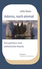 Adorno, noch einmal - Jelle Baan (ISBN 9789086872657)