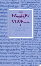 Letters, Volume 1 (The Fathers of the Church, Volume 113)