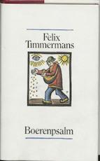 Boerenpsalm - F. Timmermans, A. Keersmaekers (ISBN 9789061525295)