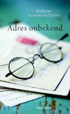 Adres onbekend - Katherine Taylor-Kressmann (ISBN 9789041422316)