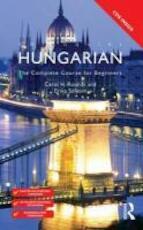 Colloquial Hungarian - Carol H. Rounds, Erika Solyom (ISBN 9780415567411)
