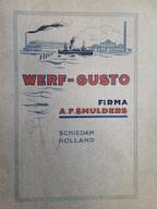 Werf Gusto Firma A. F. Smulders Schiedam (Hollan) - N/a