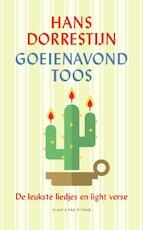 Goeienavond Toos - Hans Dorrestijn (ISBN 9789038807010)