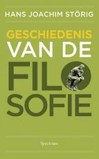 Geschiedenis van de filosofie - Hans Joachim Störig (ISBN 9789049104276)