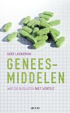 Geneesmiddelen - Gert Laekeman (ISBN 9789033495885)
